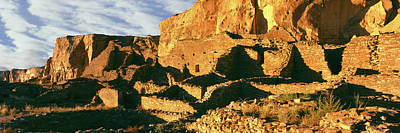 Chaco Photograph - Old Ruins At Archaeological Site by Panoramic Images