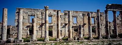 Ancient Civilization Photograph - Old Ruins On A Landscape, Cardo by Panoramic Images