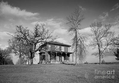 Old Rustic House On A Hill Art Print
