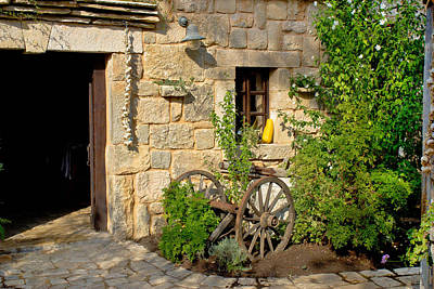 Photograph - Old Rusty Plough In Stone Street by Brch Photography