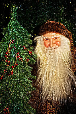 Photograph - Old Saint Nick by Mike Martin
