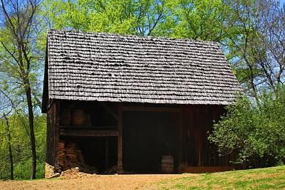 Photograph - Old Salem Barn by Kathryn Meyer