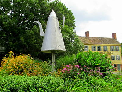 Old Salem Giant Coffee Pot Art Print