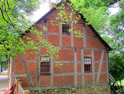 Photograph - Old Salem House Three North by Randall Weidner