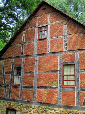 Photograph - Old Salem House Three South by Randall Weidner