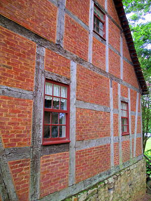 Photograph - Old Salem House Two North by Randall Weidner