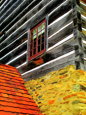 Photograph - Old Salem Materials Meet by Randall Weidner