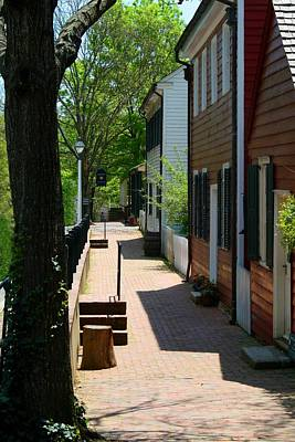 Photograph - Old Salem Sidewalk by Kathryn Meyer