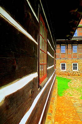 Photograph - Old Salem Vanishing Point by Randall Weidner