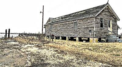 Photograph - Old Salted Building by Alice Gipson