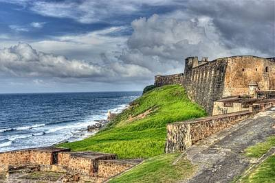 Photograph - Old San Jaun Puerto Rico Fort In Hdr by Willie Harper