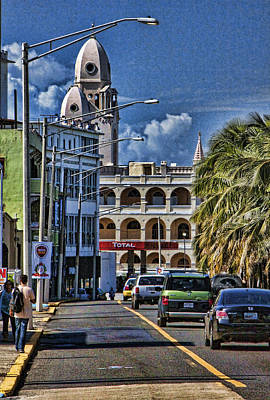 Photograph - Old San Juan Cityscape by Daniel Sheldon