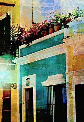 Photograph - Old San Juan  by Diana Angstadt