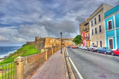 Photograph - Old San Juan In Hdr by Willie Harper