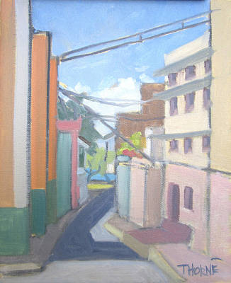 Old San Juan Art Print by Marcus Thorne