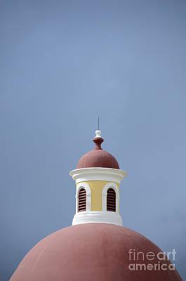 Artists Of Puerto Rico Photograph - Old San Juan Roof Top by Birgit Tyrrell