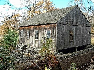 Photograph - Old Saw Mill Moore State Park Ma by Mike McCool