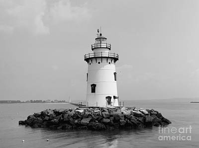 Old Saybrook Connecticut Lighthouse Art Print by Edward Fielding