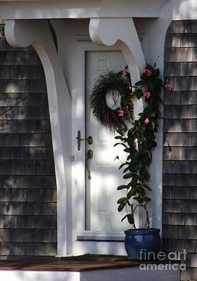 Photograph - Old Saybrook Door by Michelle Welles