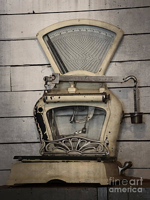 Photograph - Old Scale by Inge Riis McDonald