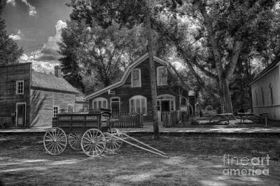 Old Scene-baker Wagon Art Print by Darcy Michaelchuk