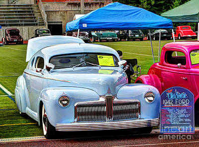 Photograph - Old School 1942 Ford by Chris Anderson