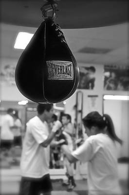 Photograph - Old School Boxing by Colleen Renshaw