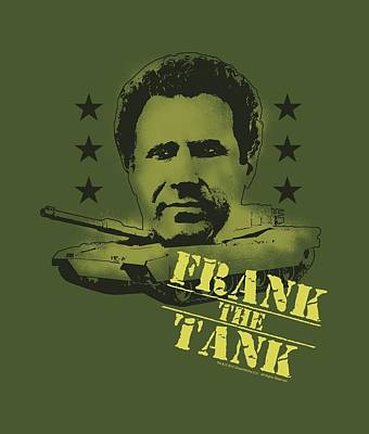 Will Ferrell Digital Art - Old School - Frank The Tank by Brand A