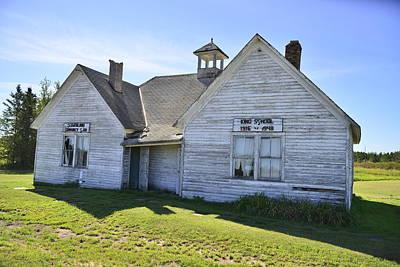 Old School House Original by James Langner