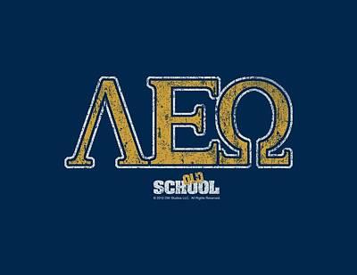 Will Ferrell Digital Art - Old School - Leo by Brand A