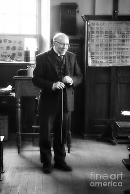 Photograph - Victorian Schoolmaster by Doc Braham