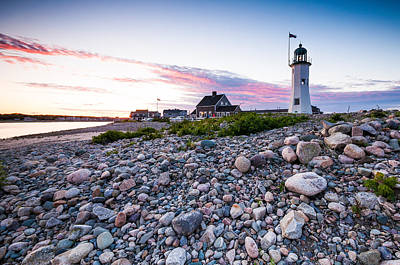 Photograph - Old Scituate Light by Lee Costa