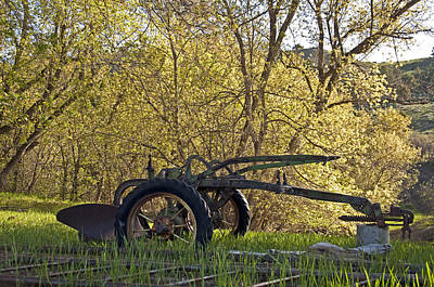 Photograph - Old Scool Plow by Eric Rundle