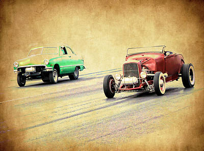 Photograph - Old Scool Racing by Steve McKinzie