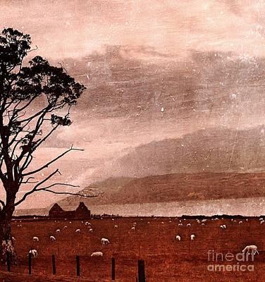 Bucolic Scenes Digital Art - Old Scottish Bothy by Callan Percy