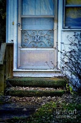 Old Screen Door Art Print by Jill Battaglia