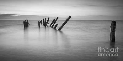 Photograph - Old Sea Defences Spurn Point by Colin and Linda McKie