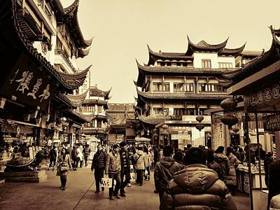 Photograph - Old Shanghai by Robert Knight
