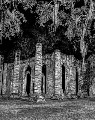 Photograph - Old Sheldon Church by Charles Hite