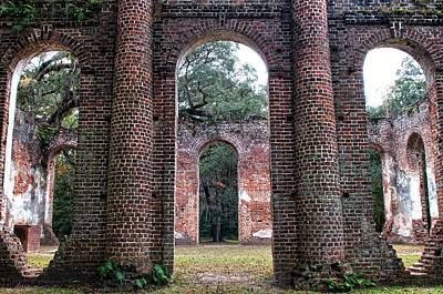 Photograph - Old Sheldon Ruins Archway by Scott Hansen
