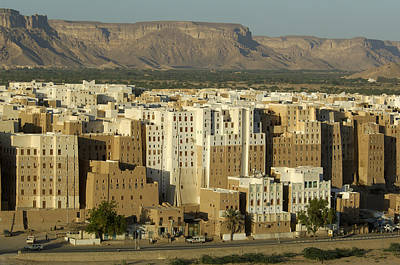 Yemen Photograph - Old Shibam by Christian Heeb