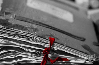Handmade Book Photograph - Old Shutter by Four Hands Art