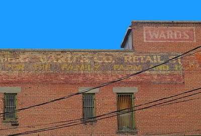 Photograph - Old Sign by Dart and Suze Humeston