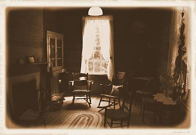 Photograph - Old Sitting Room by Sheri McLeroy