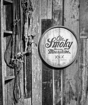 Crock Photograph - Ole Smoky Moonshine by Dan Sproul