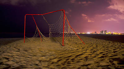 Net Photograph - Old Soccer Net by Aged Pixel