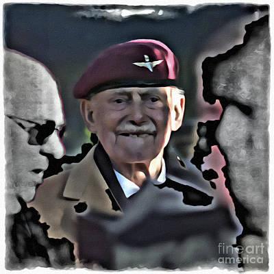 Rememberance Digital Art - Old Soldier by Paul Stevens