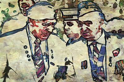 Rememberance Digital Art - Old Soldiers by Paul Stevens