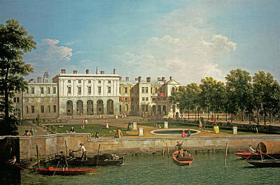 Painting - Old Somerset House From The River by Canaletto
