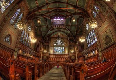 Boston Photograph - Boston Old South Church Interior by Joann Vitali